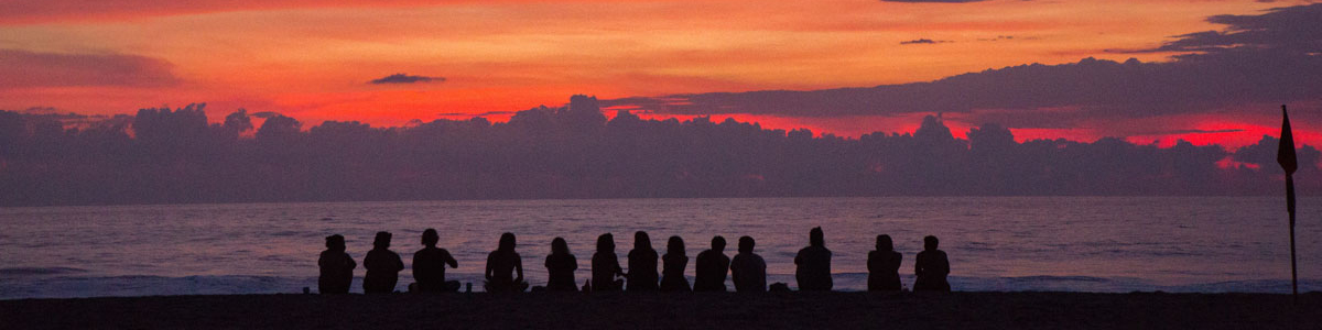Young people at dusk, Photo by Cristina Cerda on Unsplash