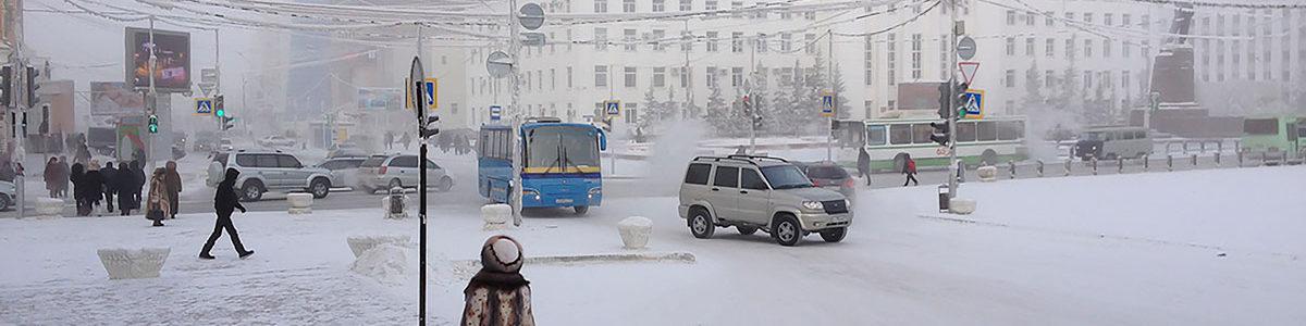 Yakutsk, Eastern Rusia