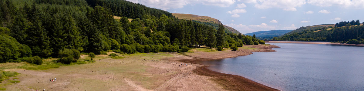 Low reservoir leve, by whitcomberd on Adobe Stock