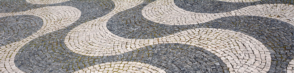 Pavement tiles, Lisbon