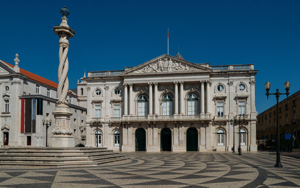 Lisbon City Hall on a sunny day, from Adobe Stock