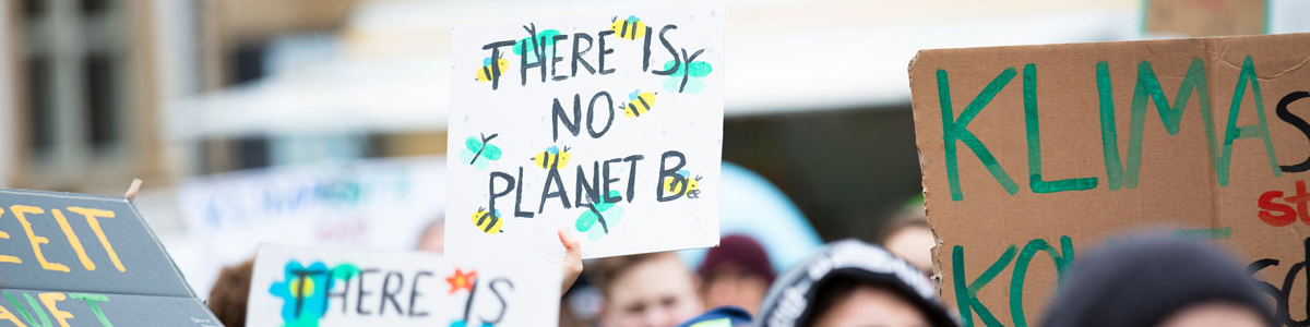 There's no planet B - young climate change protesters, Photo by Markus Spiske on Unsplash
