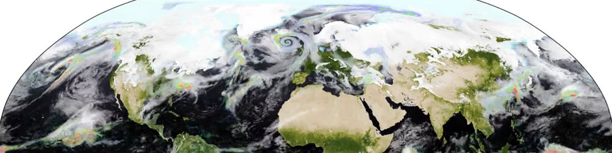 Simulation and animation credits: P.L. Vidale, M.J. Roberts, G. Perez, Centre for Atmospheric Science, Met Office and University of Reading, UK, February 2019