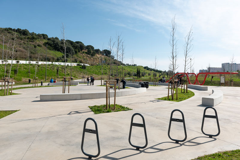 Parque Urbano do Vale de Montanha, Lisbon, 16 February 2019 – 100 trees to plant!